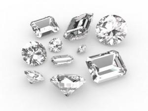 Diamonds of different sizes