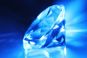 Only one third of all diamonds exhibit fluorescence.