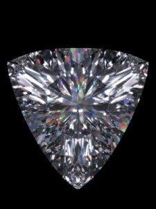 A trillion cut diamond