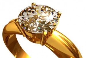 The best choice for not-so-white diamonds is yellow gold.