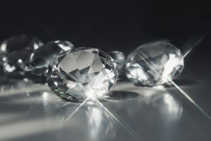 The more colorless a diamond is, the brighter it will look.