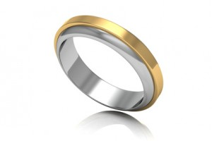 To resize a ring, jewelers cut its band and then increase or decrease its size.