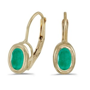 emerald-earrings-bezel-setting