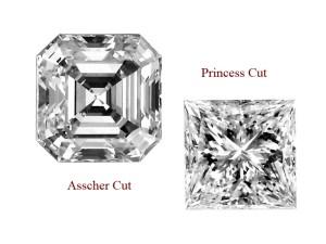 asscher-cut-princess-cut-difference
