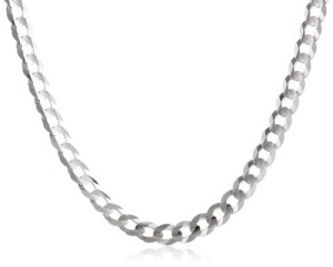 How to compare prices of white gold chain necklaces white gold cuban chain necklace aloadofball Image collections
