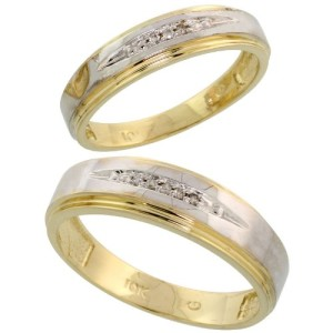 10 karat gold wedding rings - Wedding Rings Gold
