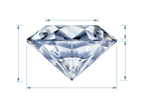 diamond cut layout