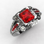 Tips on Wearing a Ruby Ring
