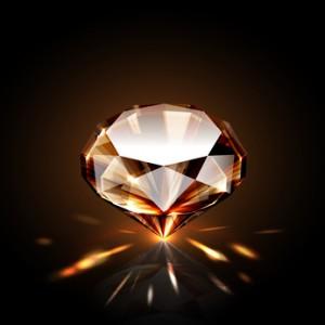 Chocolate diamonds are simply dark brown diamonds.