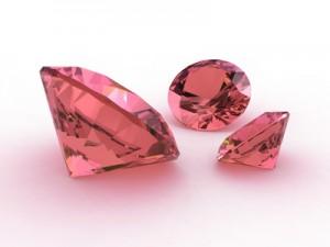 Rose fancy color diamonds