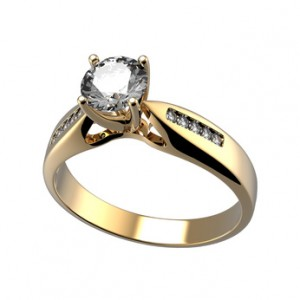 Total Carat Weight is the sum of the individual carat weights of all diamonds in a piece of jewelry.