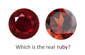 How To Spot A Fake Ruby Gemstone