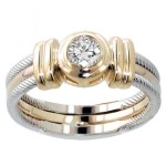 What Is a Bezel-Set Diamond?