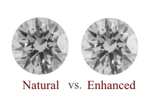 Clarity Enhanced Vs Natural Diamonds