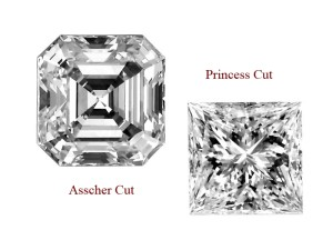 asscher-cut-princess-cut-difference