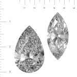 How to Determine Carat Weight of Marquise and Pear-Cut Diamonds by Measurements