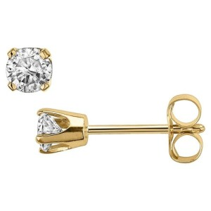 crown-style-setting-stud-earrings