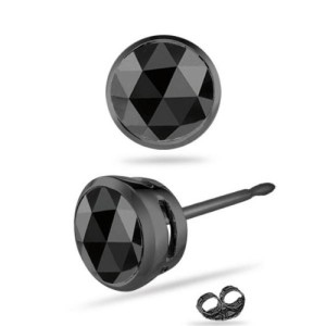 bezel-setting-black-diamond-studs