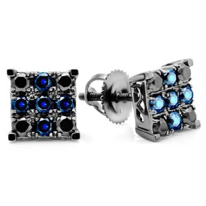 white-gold-prong-setting-black-diamond-stud-earrings