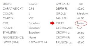 diamond_culet_selection